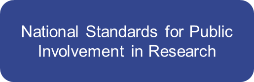 national standards for public involvement in research